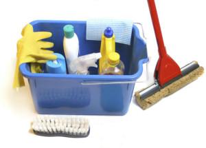 корзинка для уборки квартир
